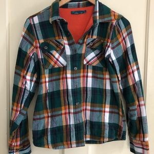 Prana Waffle-Lined Flannel